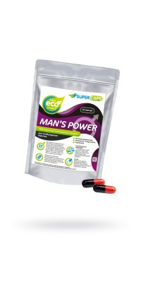 Капсулы Man''s Power+Lcamitin возбуждающее средство 10 штук