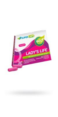 Капсулы Lady'sLife возбуждающие для женщин ,14 штук