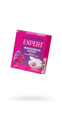 Презервативы Expert ''Жемчужное капля'' №3, розовые с перламутровыми точками, 3шт