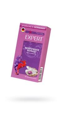 Презервативы Expert ''Жемчужное кольцо'' №12, розовые с перламутровыми точками, 12шт